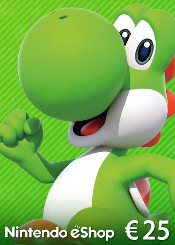 Tarjeta Nintendo Eshop 25 euros EUROPA