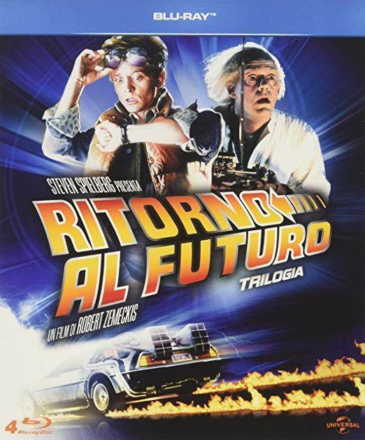 """Colección """"Regreso al Futuro"""" Blu-Ray Ed. It Audio en español"""