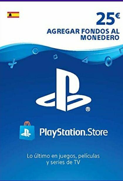 Tarjeta de 25€ de PS4