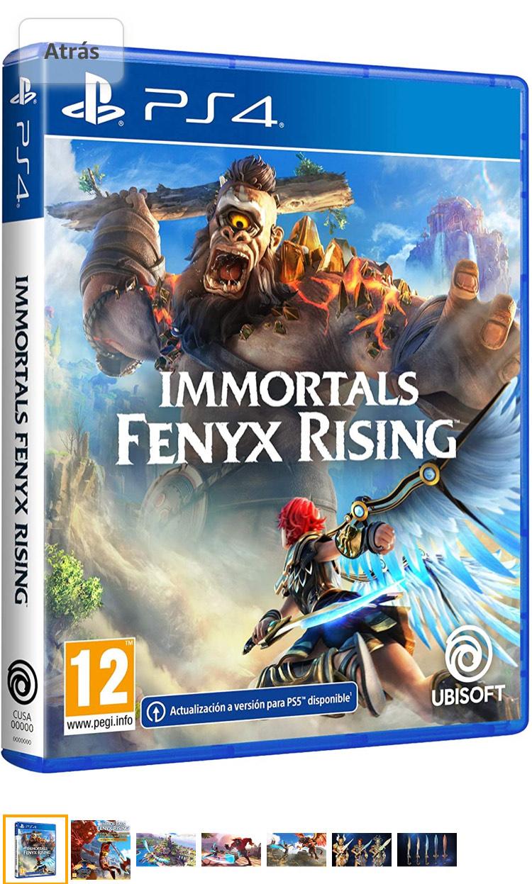 Inmortals fenyx rising
