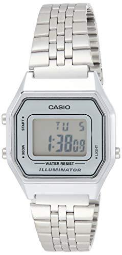 Reloj Casio de pulsera color plateado