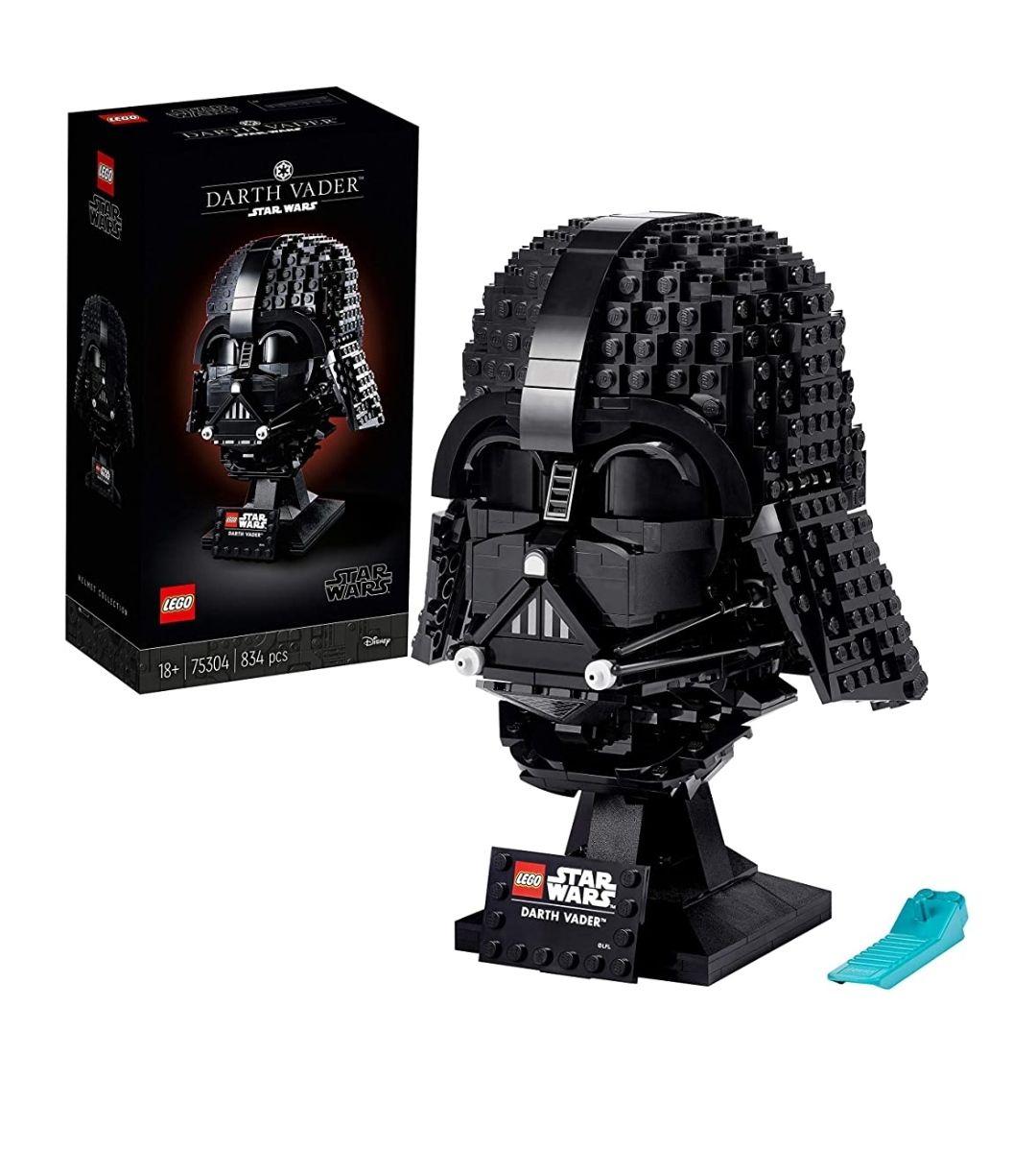 Casco Darth Vader de lego