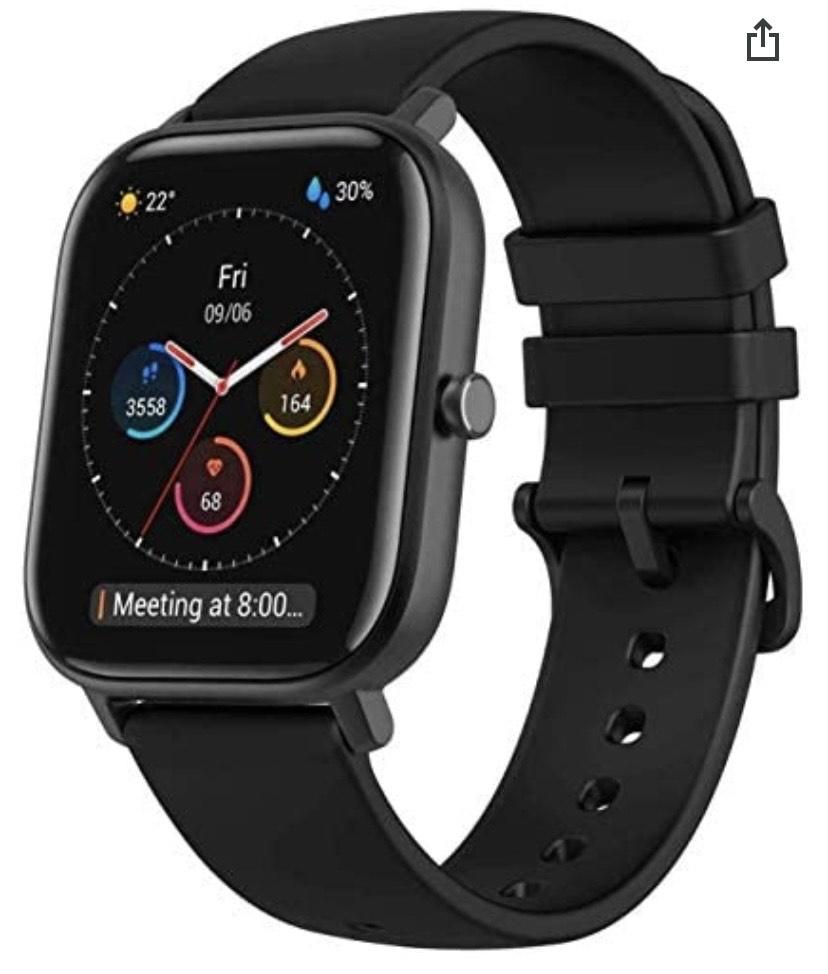 Amazfit GTS Smartwatch color negro