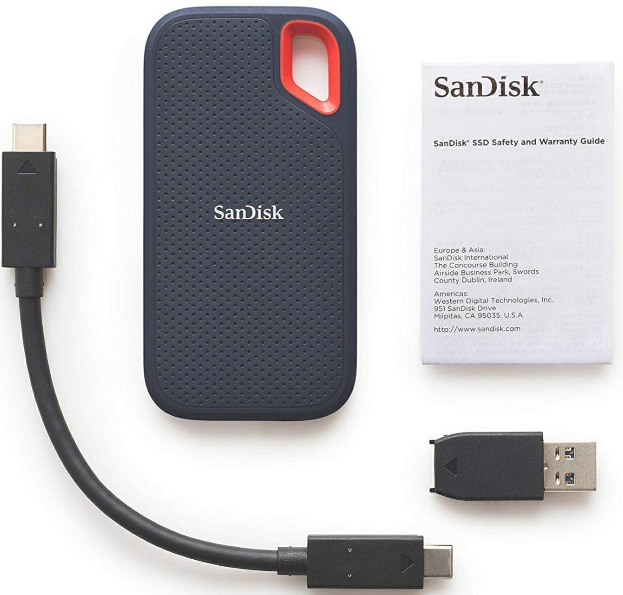 SanDisk Extreme SSD portátil 250GB