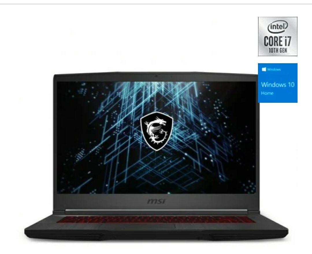 "MSI GF65 Thin 10UE-033ES Intel Core i7-10750H/16GB/1TB SSD/RTX 3060/15.6"""