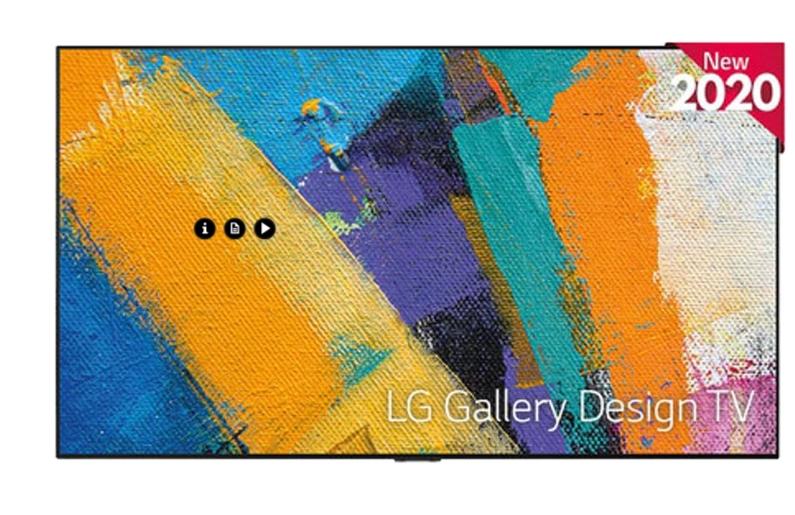 "TV OLED 138,8 cm (55"") LG OLED55GX6LA 4K con Inteligencia Artificial"