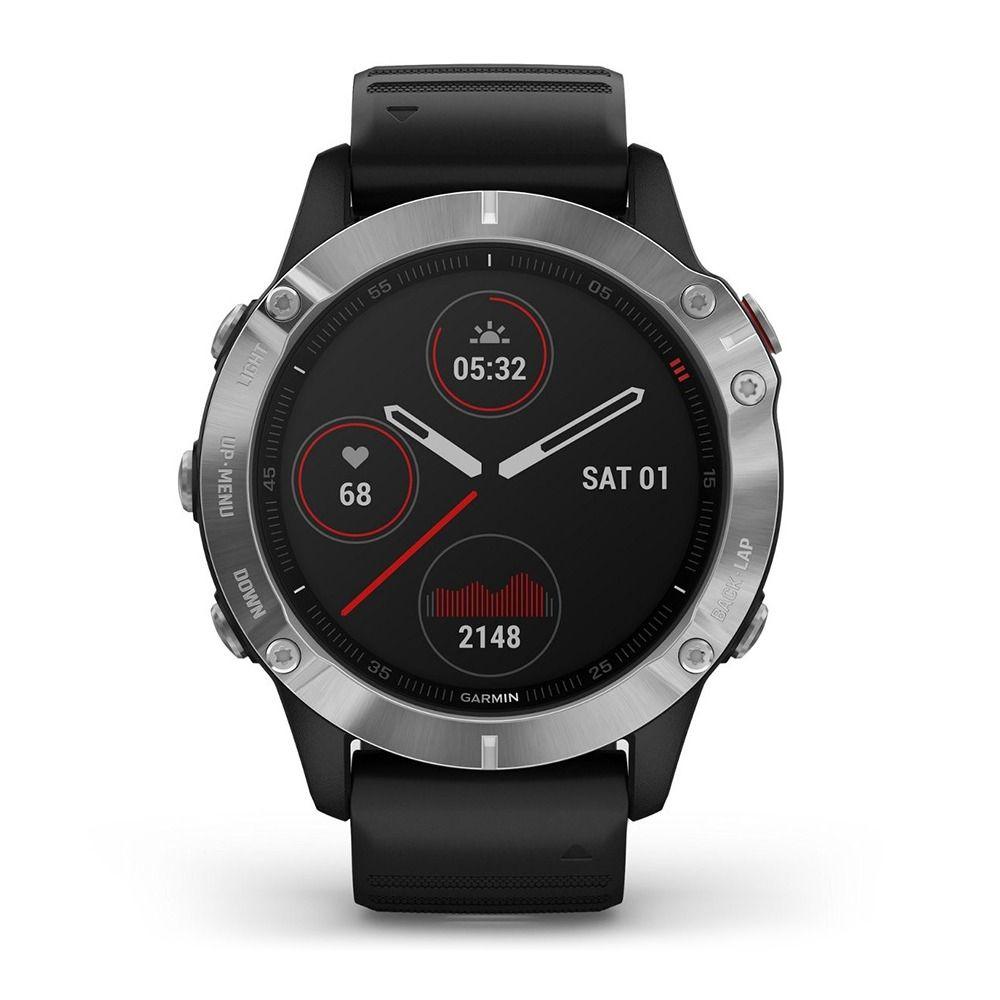 GARMIN FENIX® 6 - RELOJ GPS/PULSÓMETRO SILVER