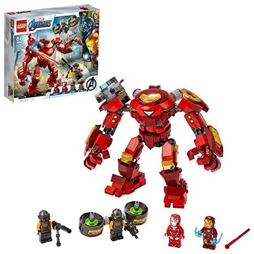 LEGO 76164 Marvel Los Vengadores Hulkbuster de Iron Man vs. Agente de A.I.M