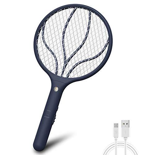 Raqueta mata moscas y mosquitos recargable x usb