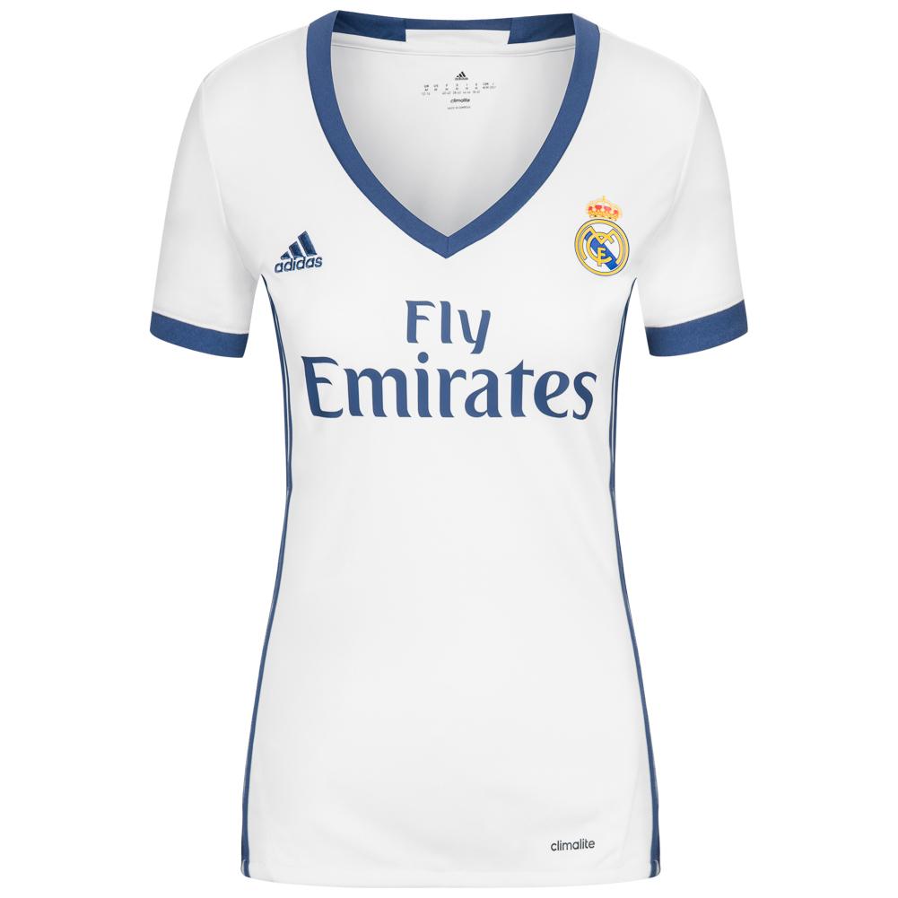 Real Madrid CF adidas Mujer Camiseta primera equipación AI5188
