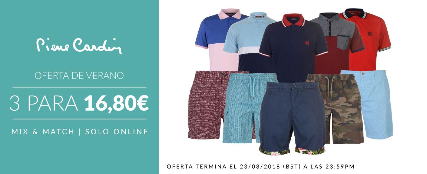 3 prendas masculinas Pierre Cardin 16,80