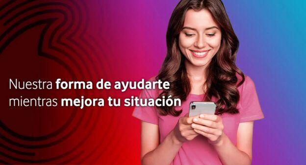 Vodafone Línea 30GB - 10€ Con Fibra 25€ Tarifas Conectad@s Sociales Personas Vulnerables