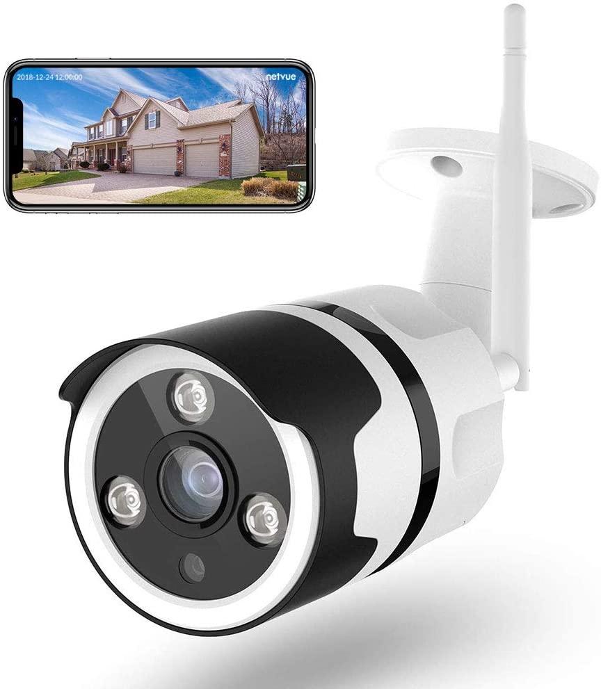 Cámara de vigilancia 1080P Wifi exterior solo 7.9€