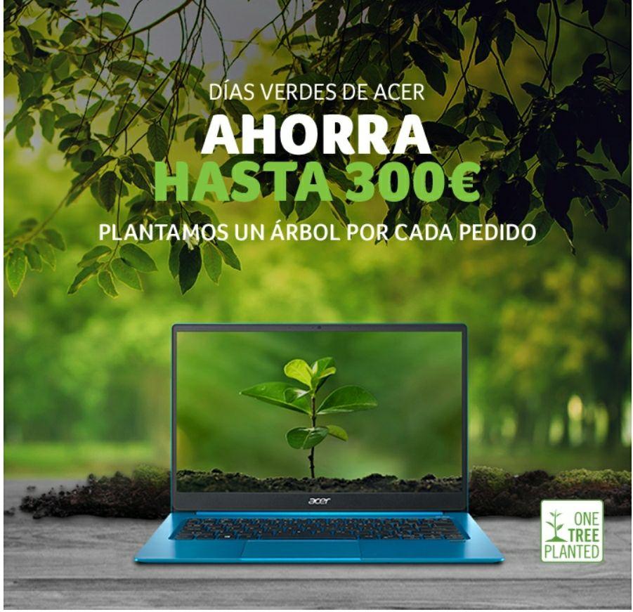 Acer Green Day - Descuentos de hasta 300 euros