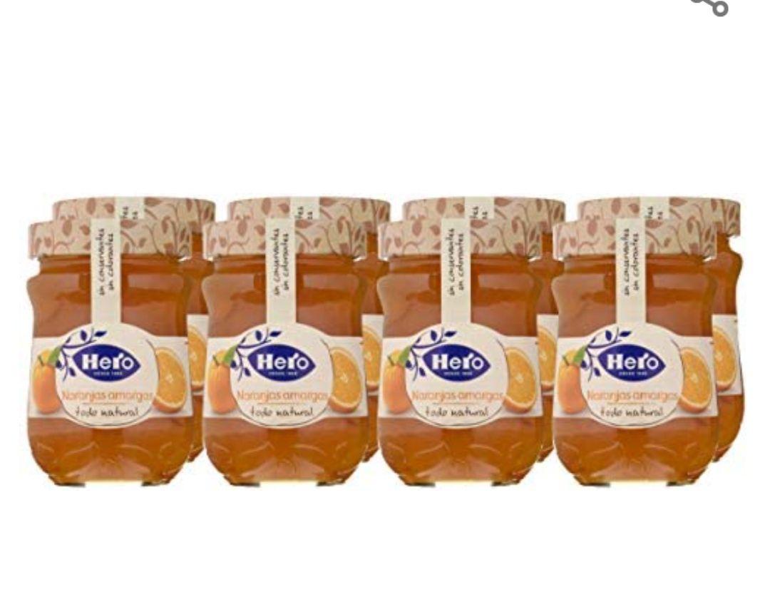 Hero Confitura Extra de Naranja Amarga 8 x 345 g