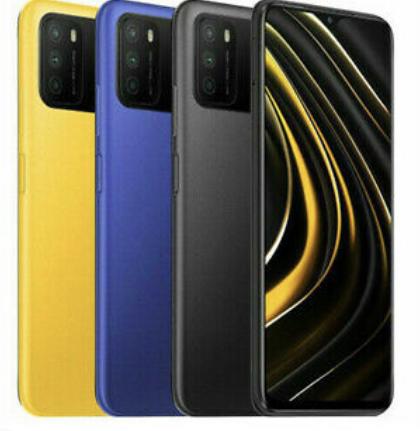 Móvil: Xiaomi Smartphone POCO M3 4+128G 6000mAh 64MP 33W Ladung Globale Version