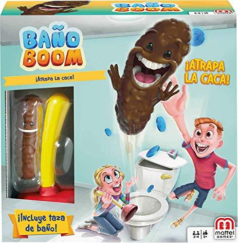 Juego de mesa baño boom,ATRAPA LA CACA