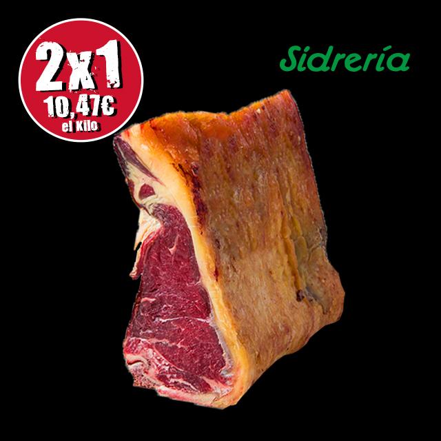 (2 x 1)PACK DE 4 CHULETAS DE VACA LOMO BAJO SIDRERÍA.