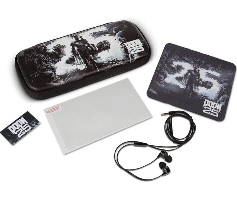 - Kit de viaje más accesorios Doom 25 nintendo switch