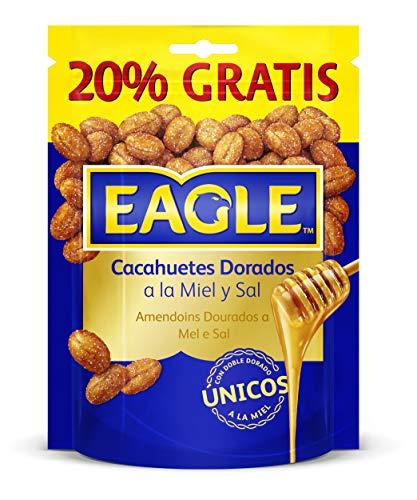 Eagle cacahuetes fritos con miel y sal, 22 x 75g