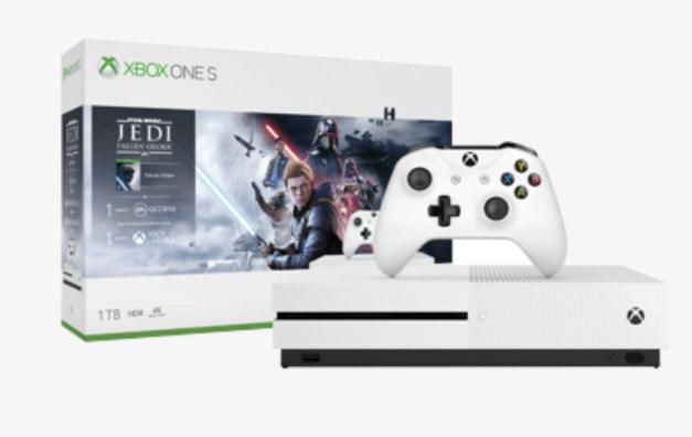Oferta Microsoft XBOX ONE S Star Wars