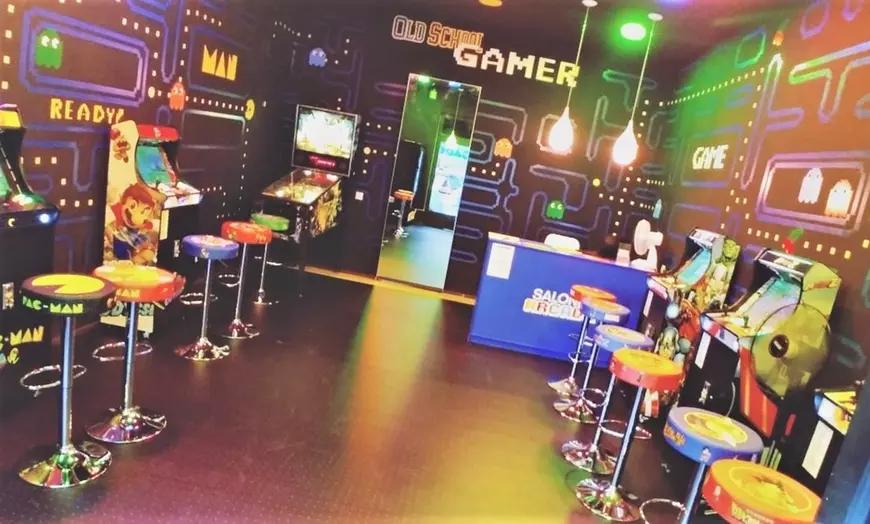 Salón Arcade para dos personas