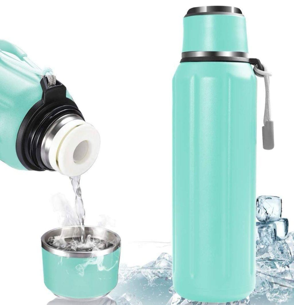 Botella Térmica de frio/caliente Acero Inoxidable 600ml (En Varios colores)