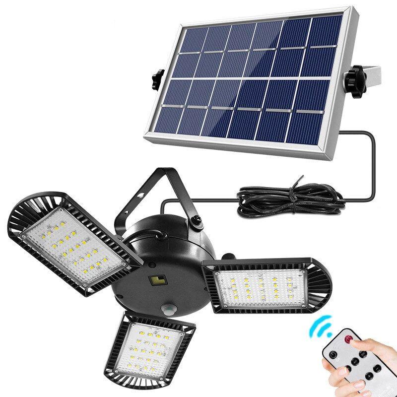 IPRee 3 lámparas de luz solar 800LM