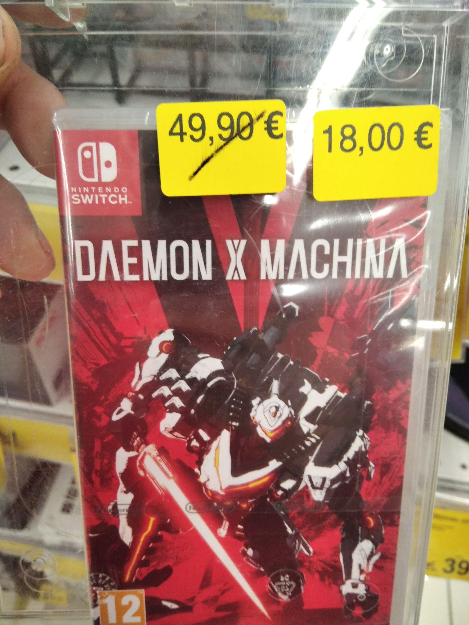 Daemon X Machina (Switch) Últimas unidades Carrefour
