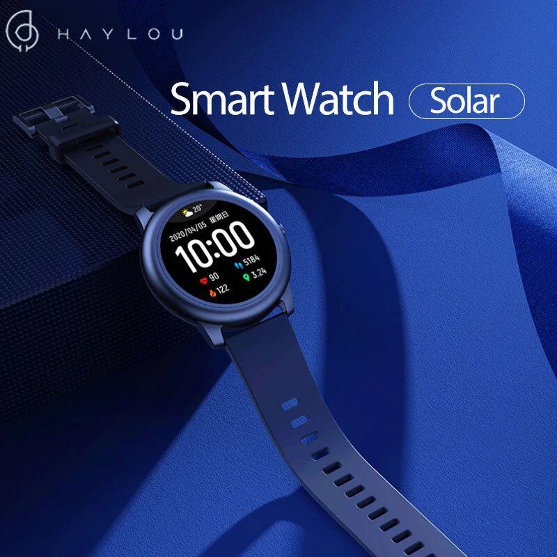 Haylou Solar LS05 Pulsera de pantalla redonda completa 12 Modos deportivos