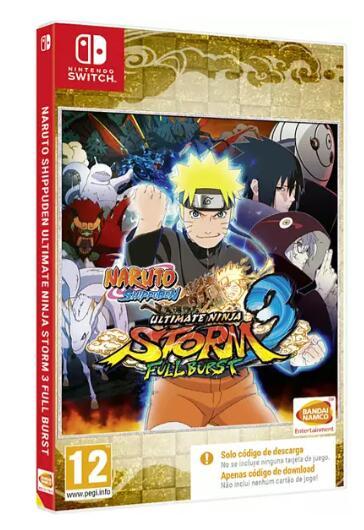 Nintendo Switch Naruto Shippuden Ultimate Ninja Storm 3