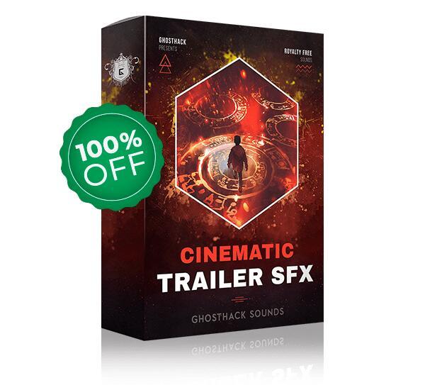 Colección de 411 efectos de sonido cinematográficos SFX de GHOSTHACK