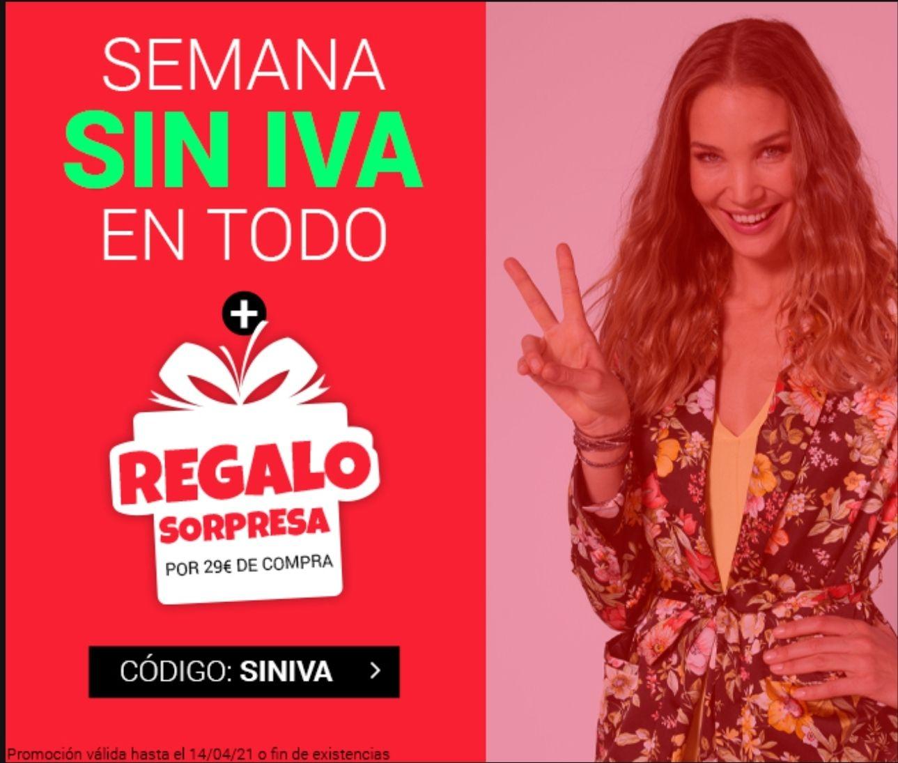 SEMANA SIN IVA + REGALO SORPRESA. Magic Outlet