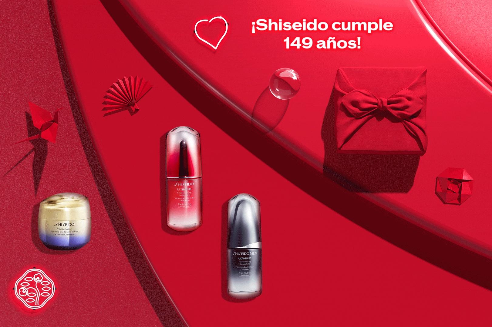 35% de descuento en tus productos favoritos de SHISEIDO