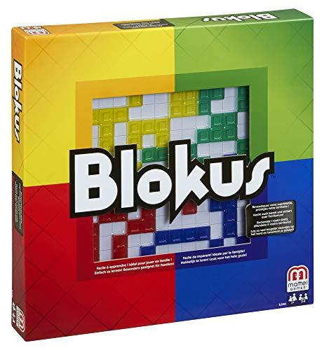 Mattel Games Blokus Refresh juego de estrategia para niños +7 años