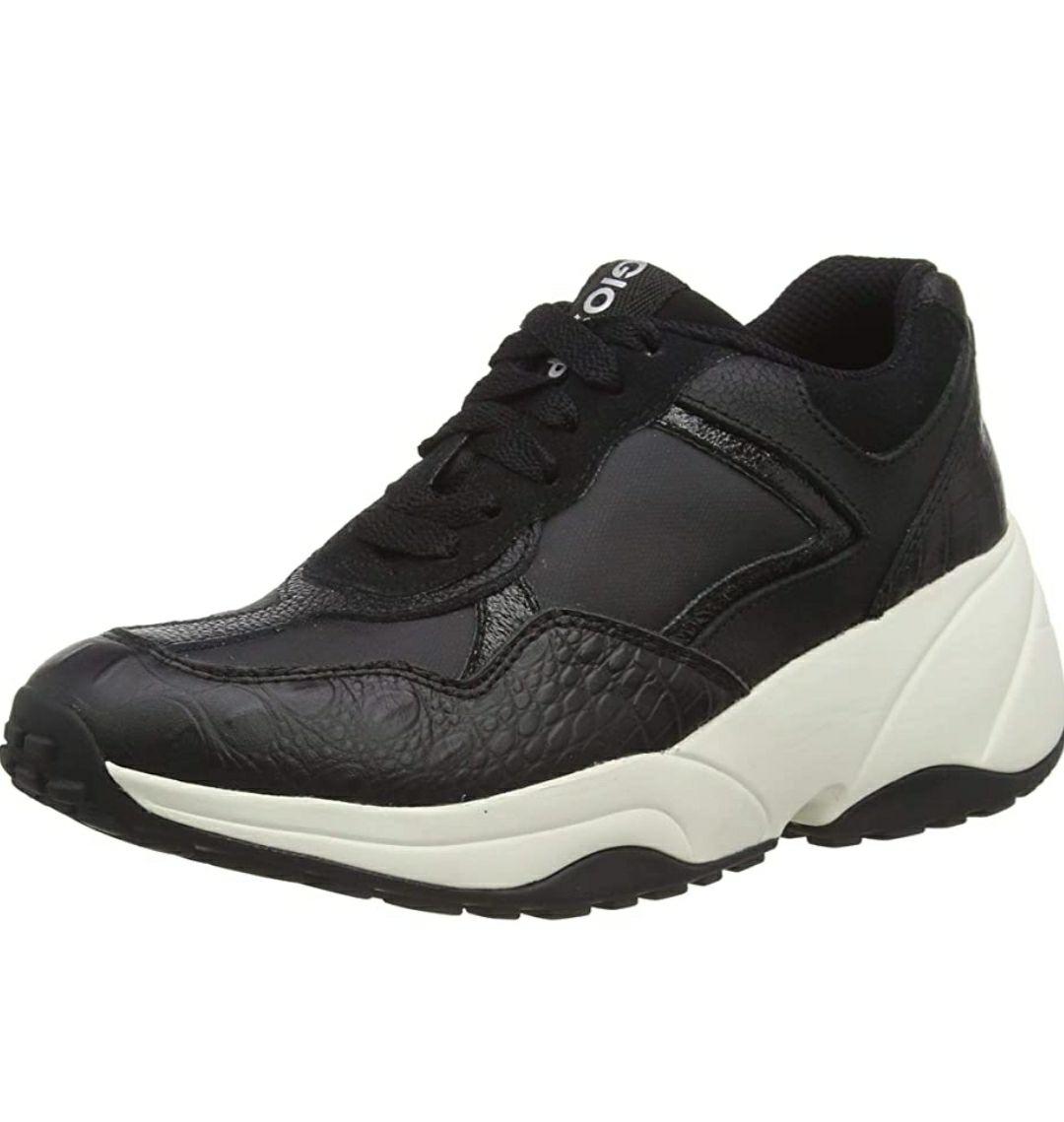 Zapatillas GIOSEPPO negras plataforma - Talla 39