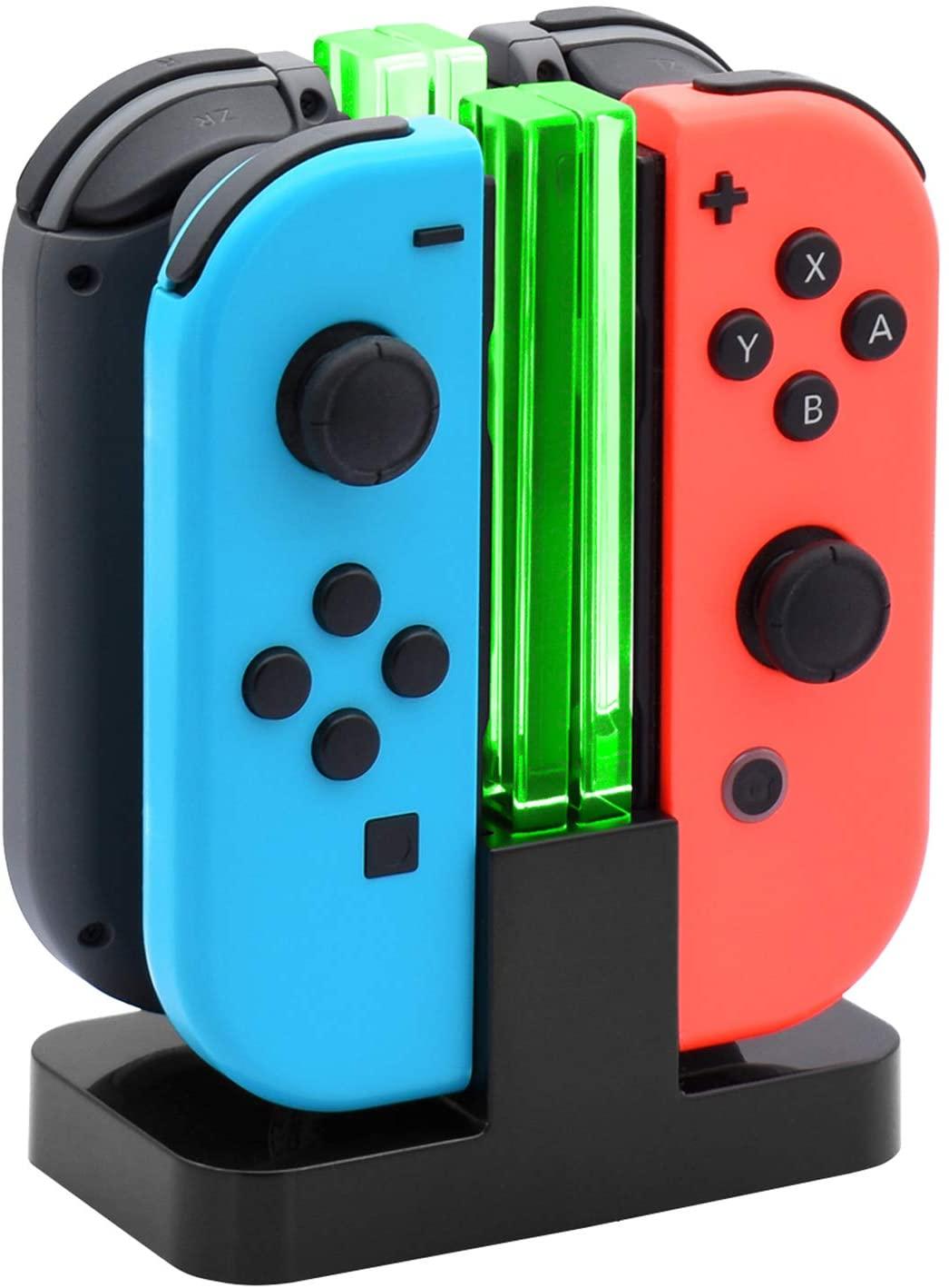 Cargador mandos para Switch solo 4.3€