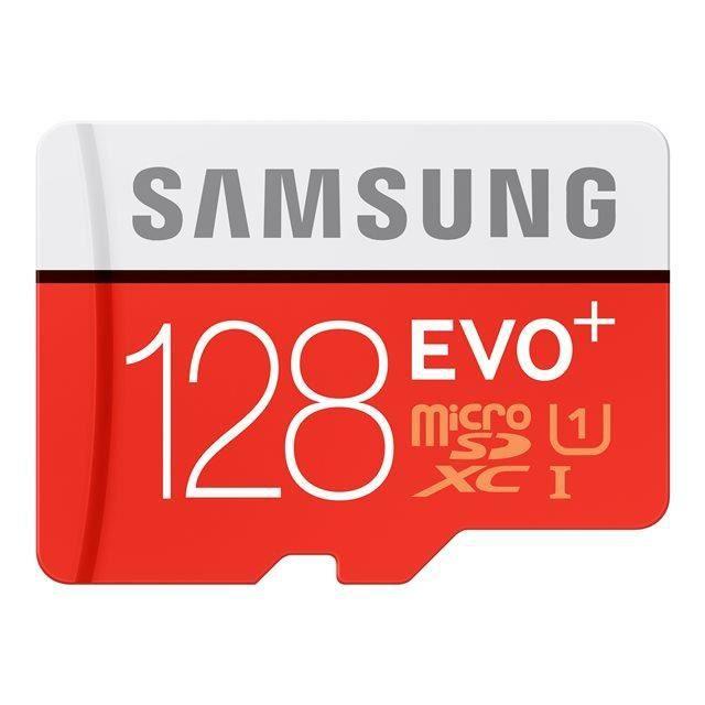 Tarjeta de memoria micro SD Samsung 128GB Evo Plus