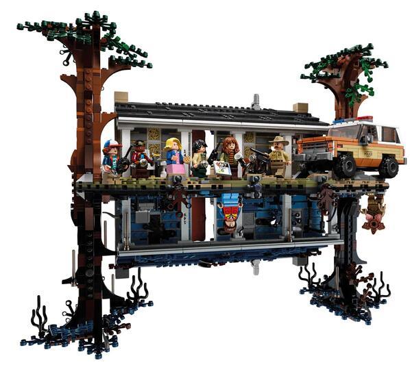 Lego Stranger Things mundo del revés