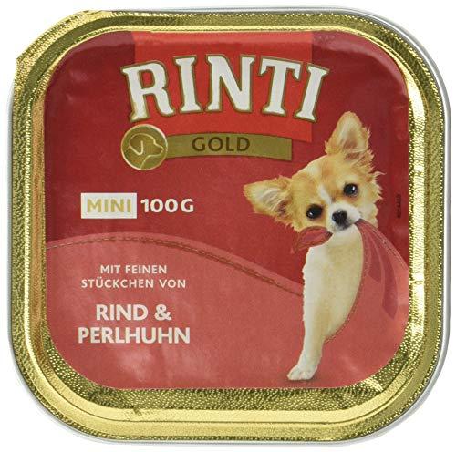 RINTI Oro Mini Vacuno & Gallina, 16 x 100g (perros)