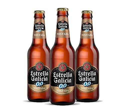 Estrella Galicia 0,0 Tostada 24 botellines