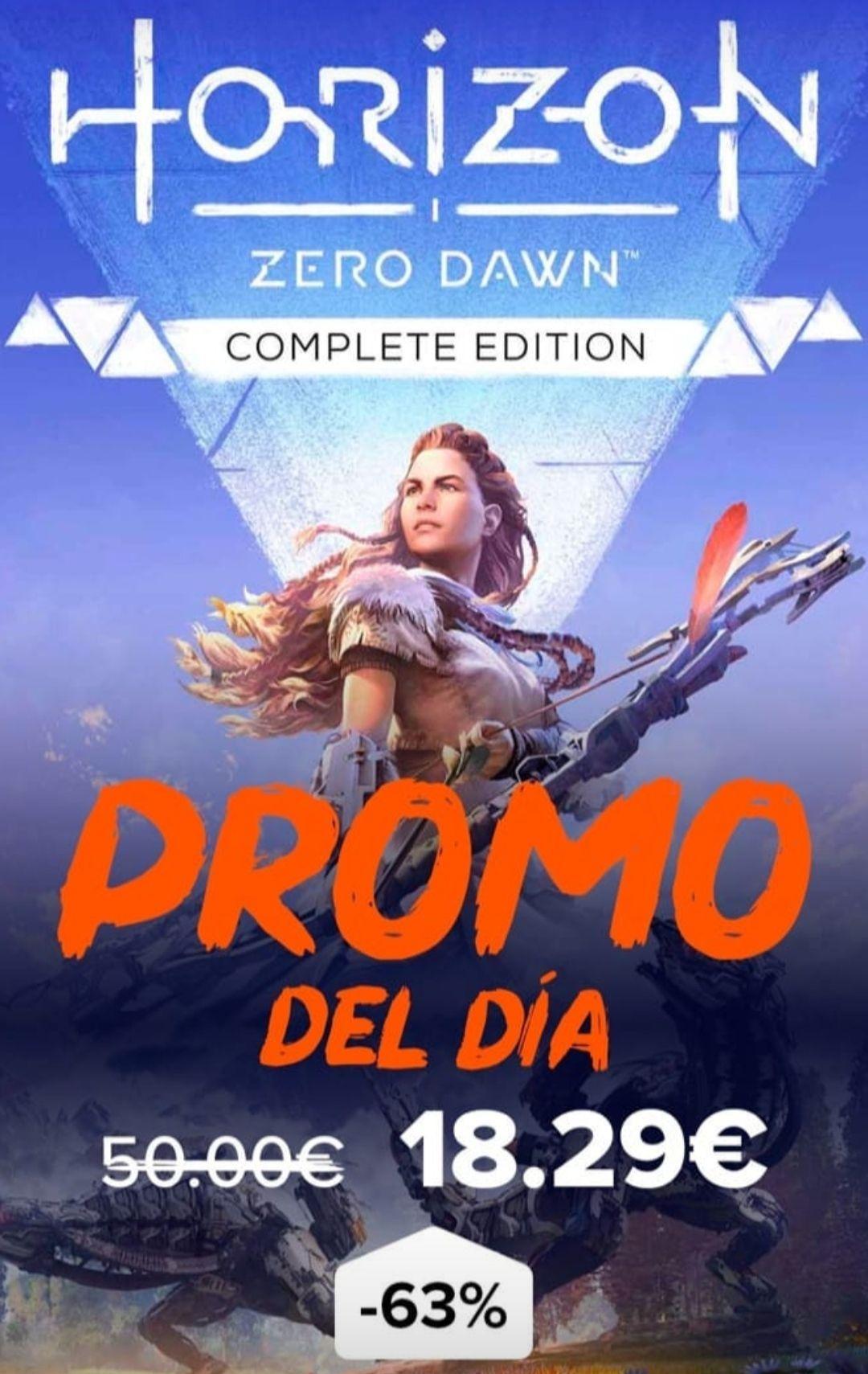 Horizon Zero Dawn Complete Edition para PC