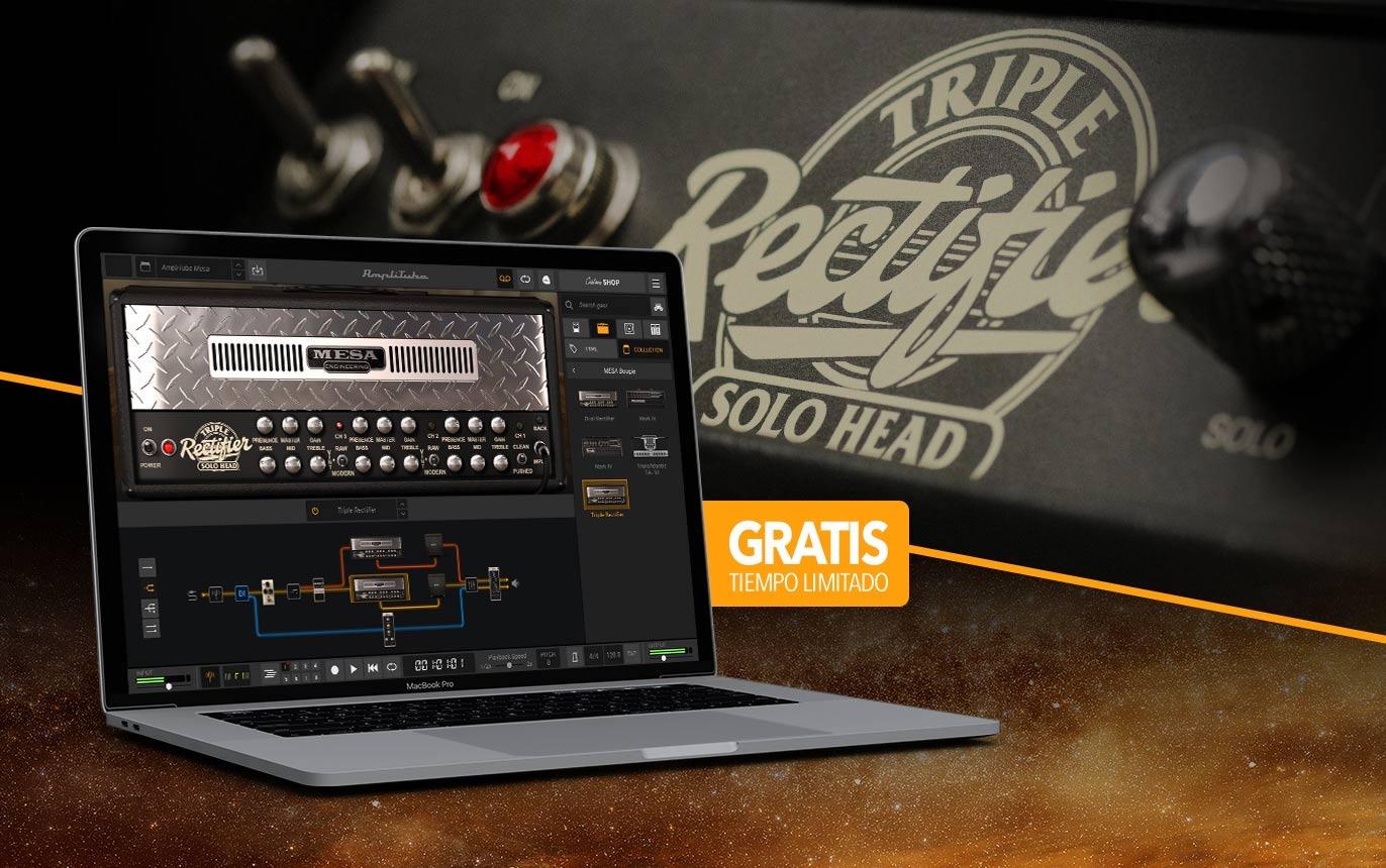 IK Multimedia - AmpliTube 5 MESA/Boogie Triple Rectifier y presets de artistas GRATIS