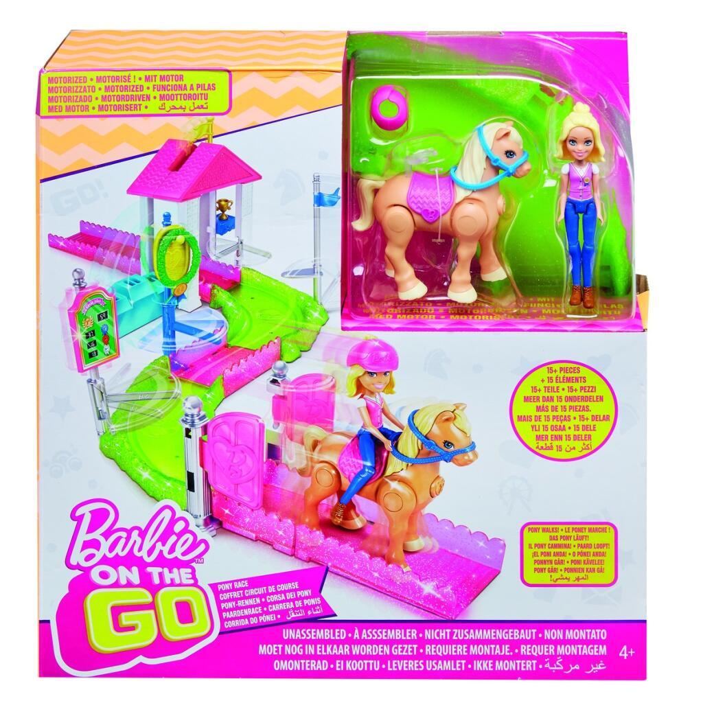 Barbie On The Go con pony