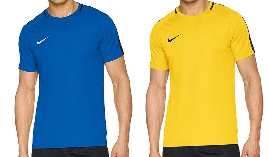 Camiseta NIKE Dry Academy 18 (Azul talla M - Amarillo talla L (TSS))