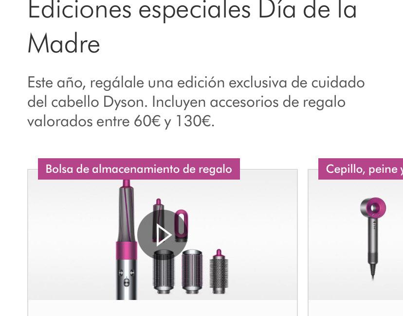 Dyson (Airwrap, secador supersónico, aspirador)