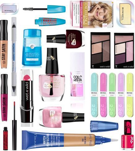 """Recopilación ofertas maquillaje Amazon """"Low cost"""""""