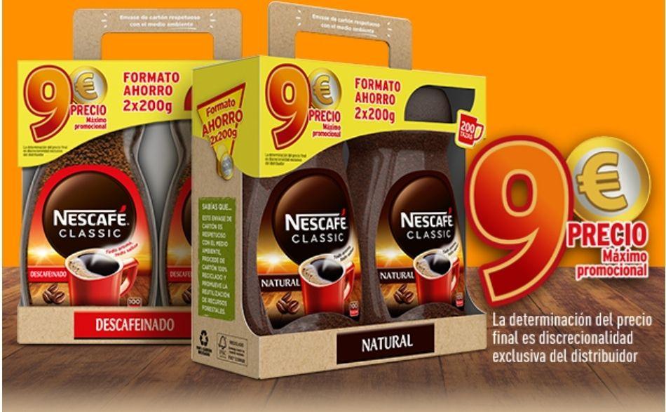 Nescafé 2×9€