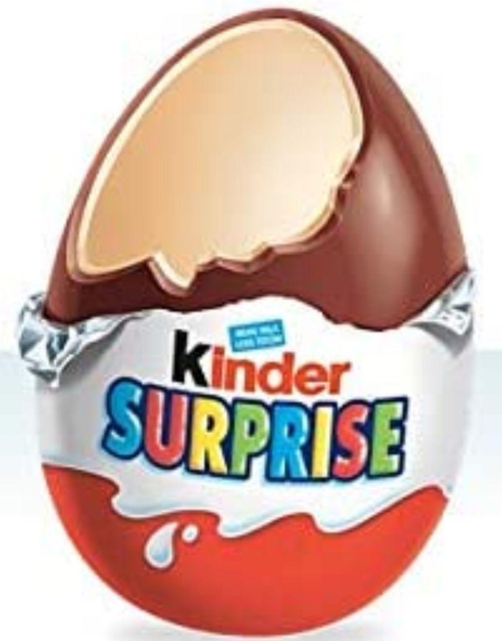 Kinder Sorpresa - Huevo de chocolate + juguete