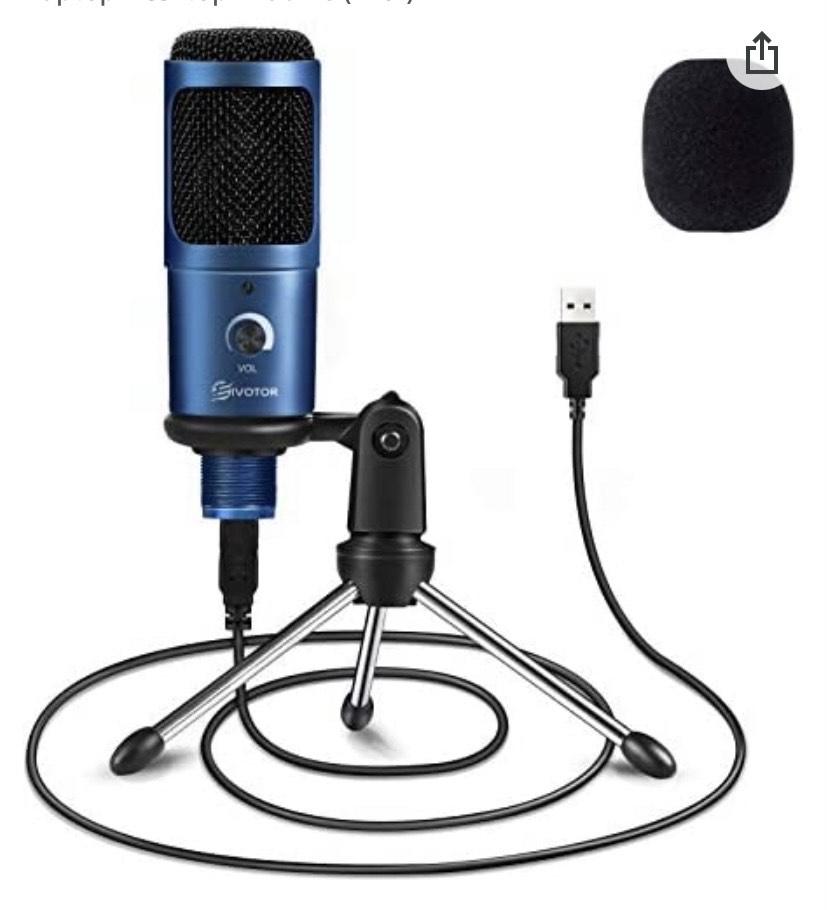 EIVOTOR Micrófono PC & Micrófono